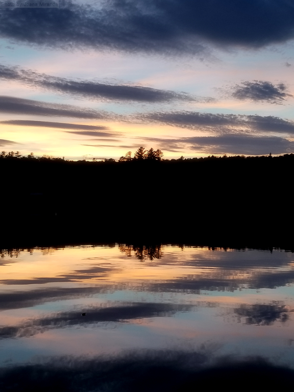 Gorgeous fall sunset over Goose Pond.jpg
