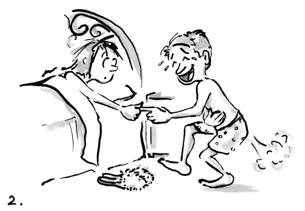 Marriage cartoon by Joana Miranda