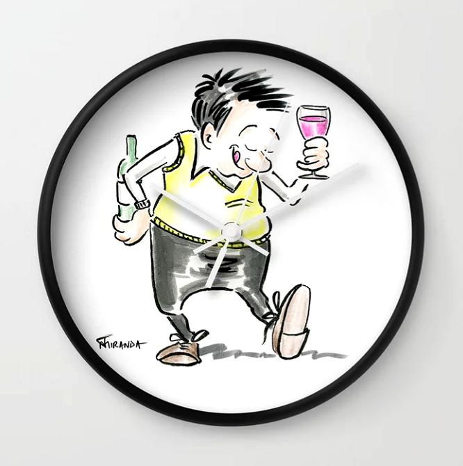Wine-OClock-clock-Funny-Wine-Lover-Clock-by-Joana-Miranda