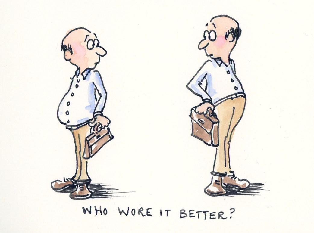 Who Wore It Better - Manly Art by Joana Miranda