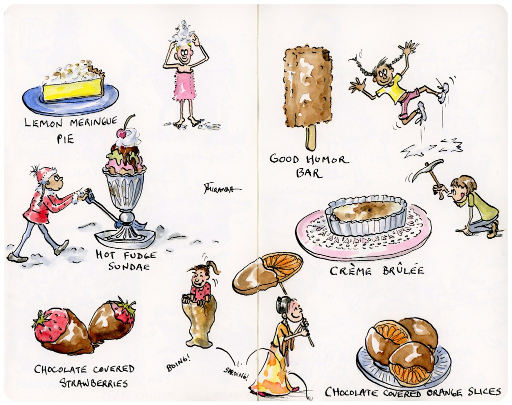 Just Desserts (Or, Happiness Illustrated)
