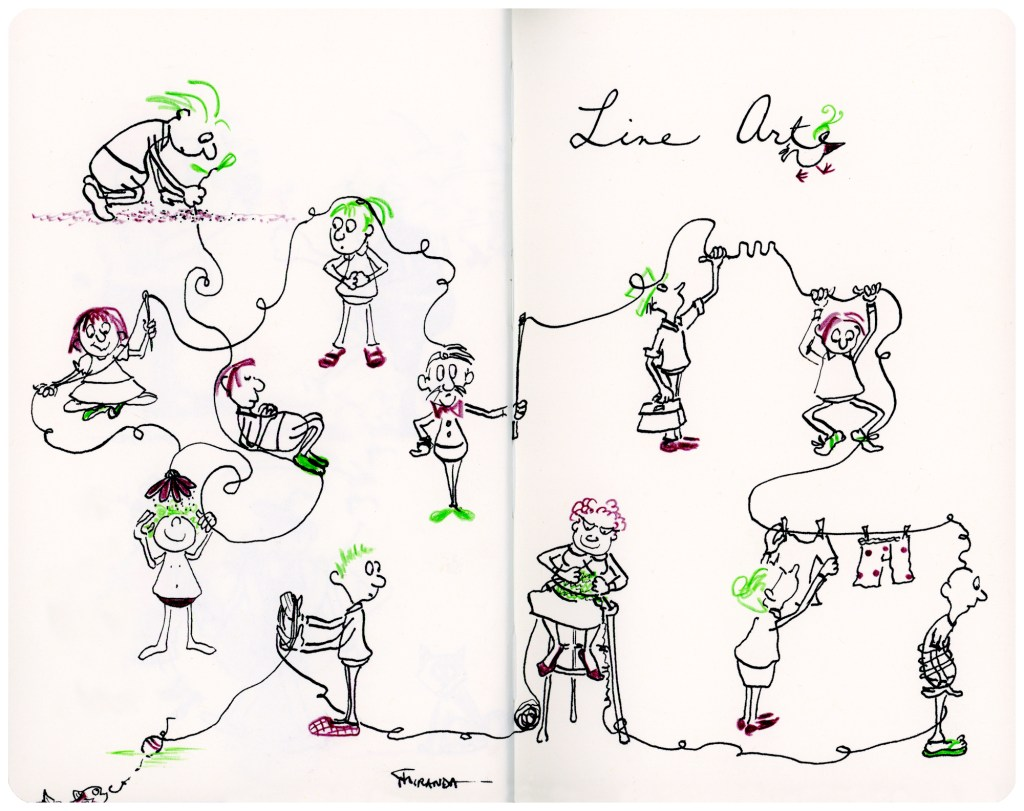New art and illustrations from my Moleskine notebook.