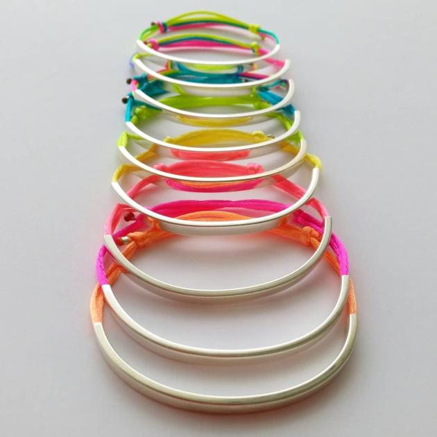 Silver Silk bracelet