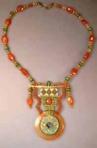Carnelian Pastels Necklace