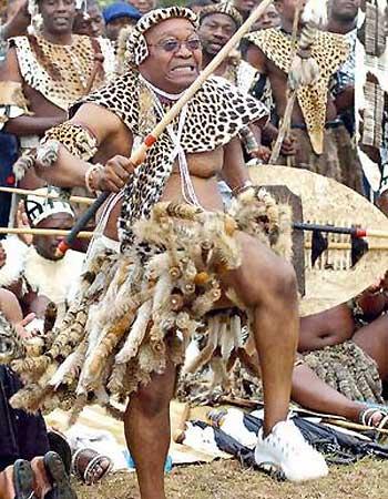 Jacob Zuma - our next President?