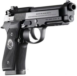 The Beretta 92A 40 S&W