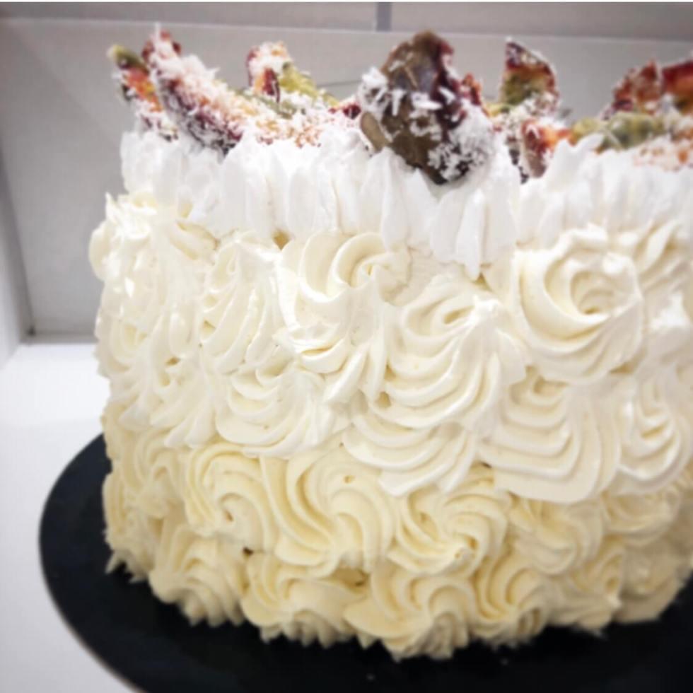 Layer cake coco passion vegan