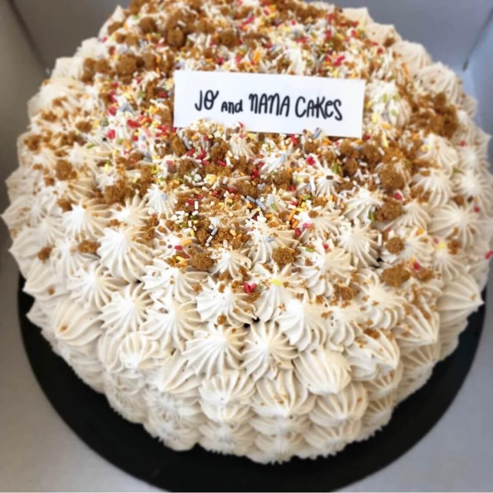 Layer cake speculoos vegan
