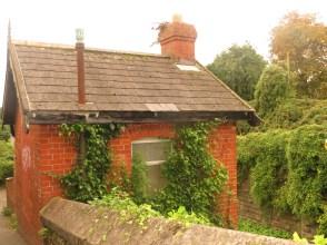 old railway ticket office