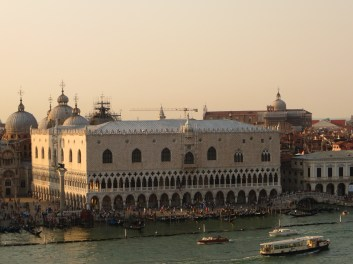 The Doges Palace from 1424