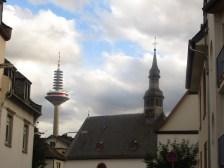 Matching spires