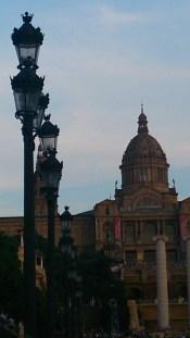 Gaudi designed street lamps