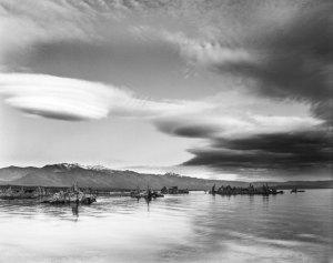 010B04 Mono Lake Evening, CA 1994