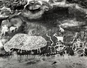 2003021006 Bison Petroglyph 2003