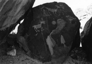 200501B007 Abiquiu Rock Art, NM 2005