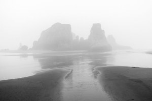 20170661D Foggy Beach, OR 2017