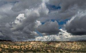 20180203DC Clouds, El Camino Real No.2, NM 2018