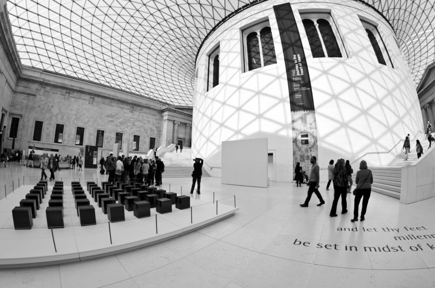The British Museum (Londres - primavera 2012)