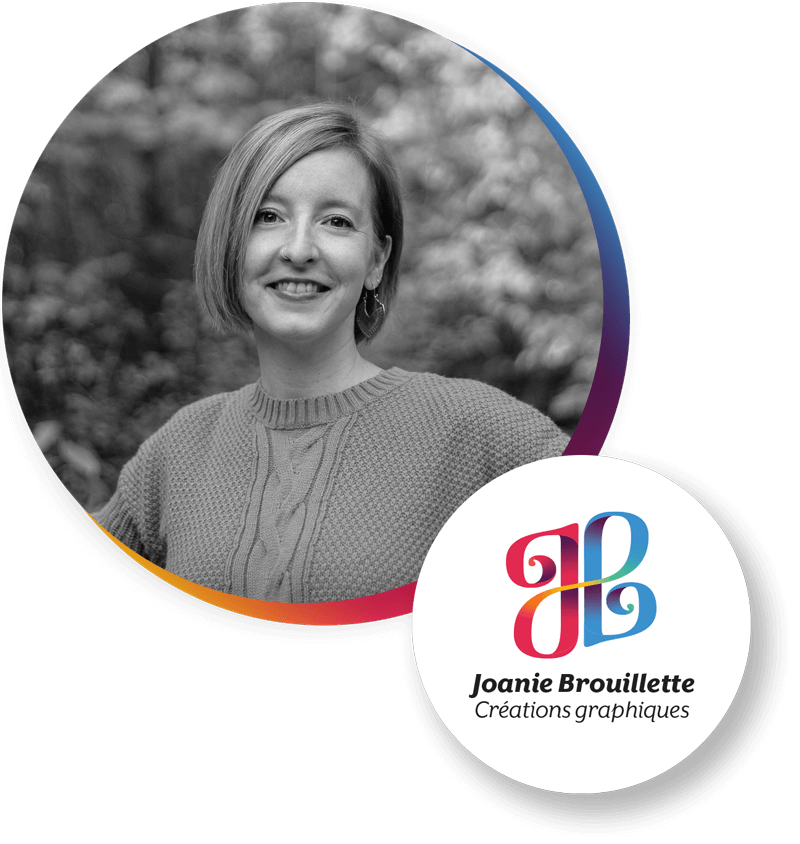 Joanie Brouillette - Créations graphiques - Profil