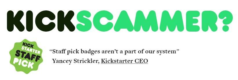 Kickstarter is broken.