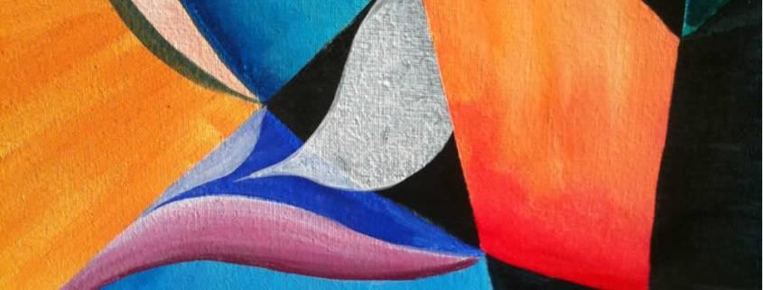 fragment van een schilderij van Anne-Mieke Bovelett