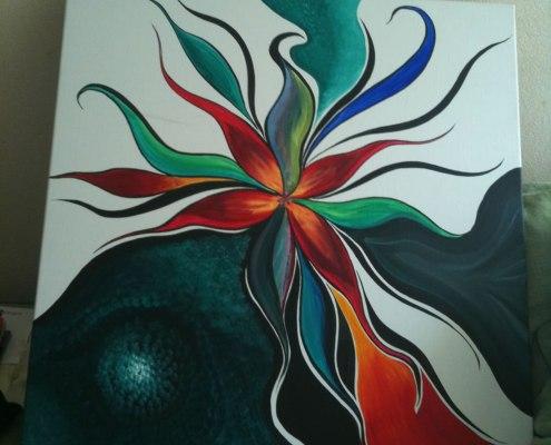 schilderij van Anne-Mieke Bovelett