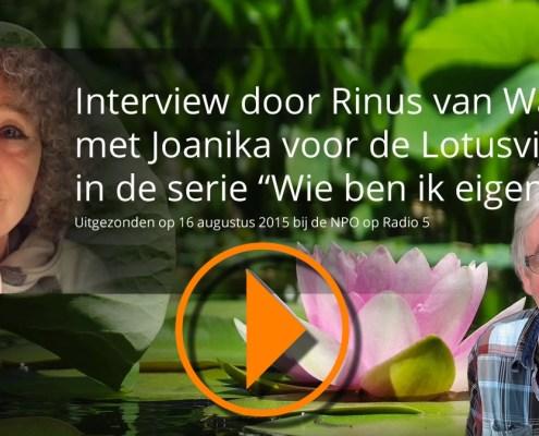 Speel het audiobestand af met het interview met Joanika door Rinus van Warven