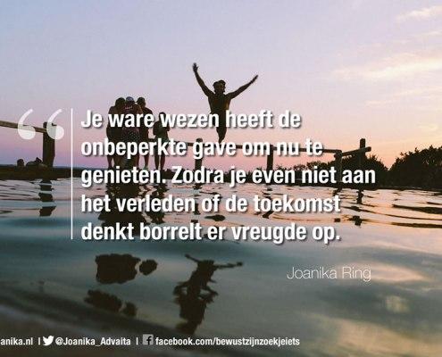 Quote van Joanika over je ware wezen