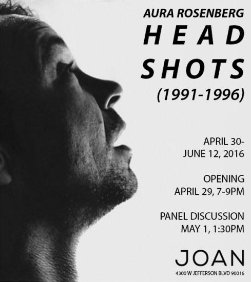Aura Rosenberg: Head Shots (1991-1996) - JOAN