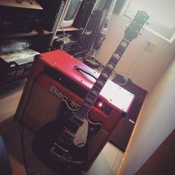 guitarra i ampli