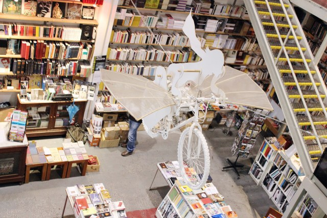6Ler Devagar bookstore Lisbon