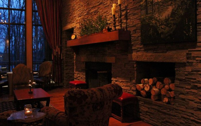 Romantic soft lighting The Lodge