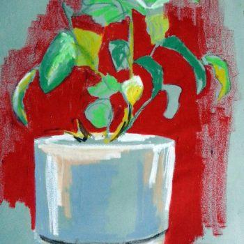 Oil Pastel 1985