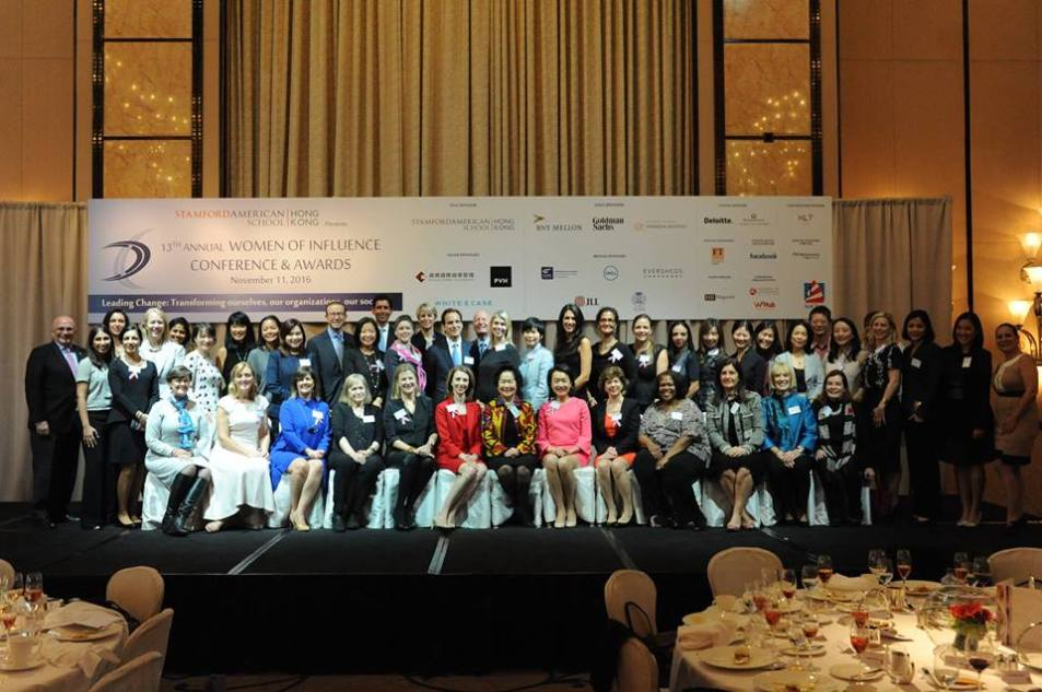 Speakers at the Amcham Women Of Influence Conference