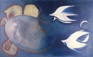 Birds and nest, 1989