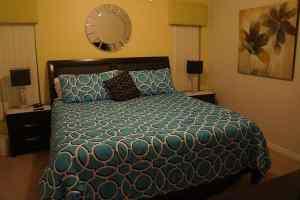 Villa Rental Master Bedroom