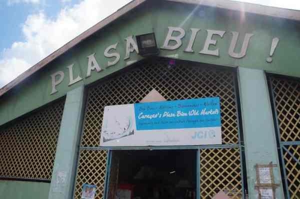Plasa Bieu in Willemstad, Curaçao