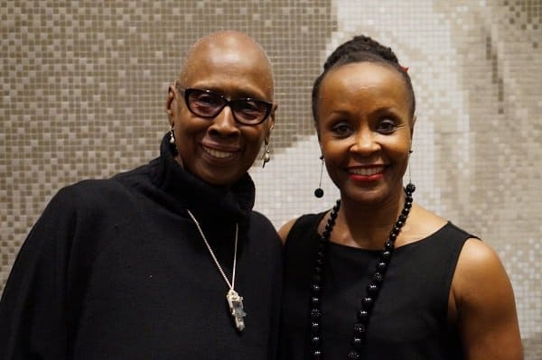 Judith Jamison and Renee Robinson