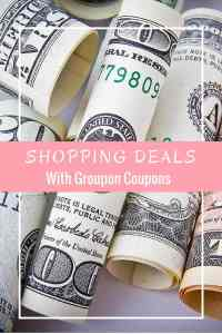 Shopping Deals With Groupon Coupons