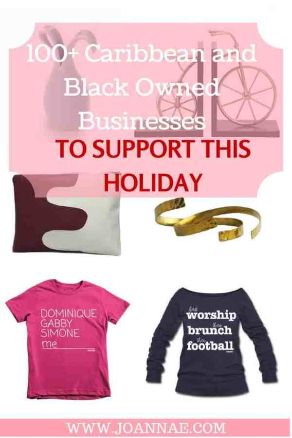 100+ Caribbean and Black Owned Businesses to Support This Holiday