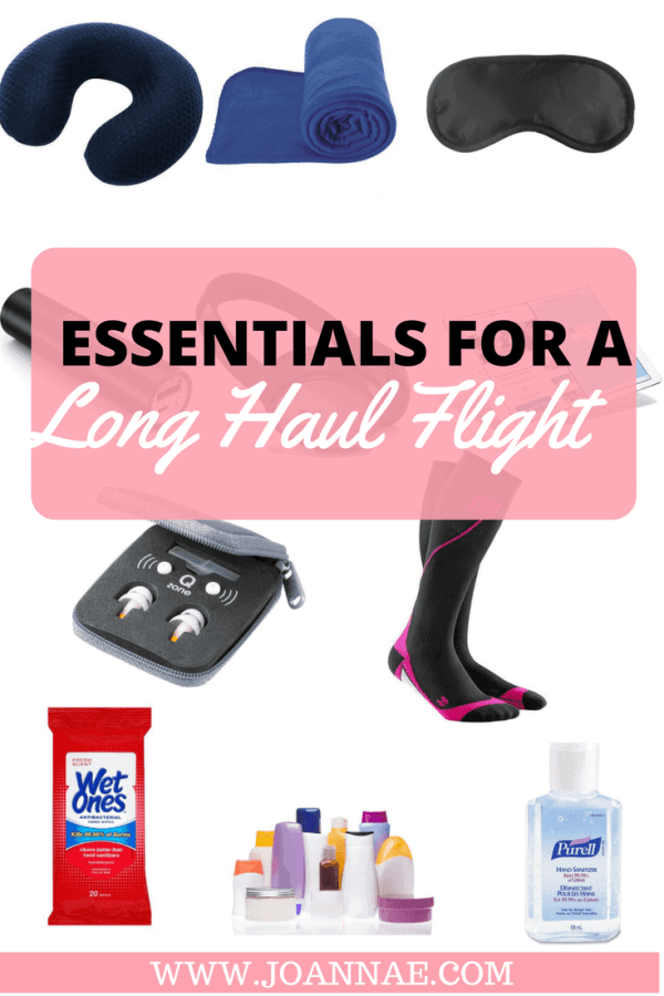Essentials For a Long Haul Flight