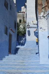 Alley in Chaouen