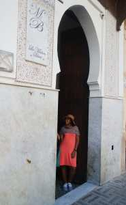 Door photo in Fez