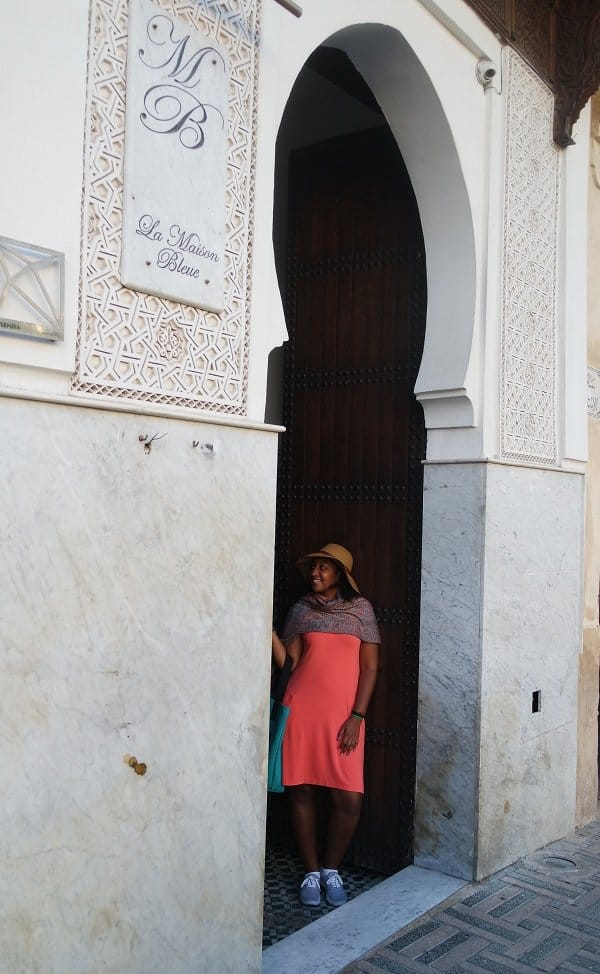 Door photo in Fez
