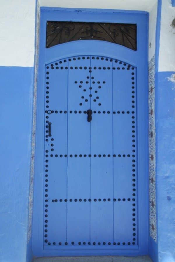 Doors in Morocco Chefchaouen 4