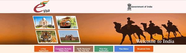 indian e-visa website