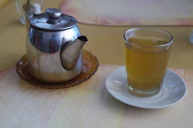 Moroccan food and drinks Mint Tea