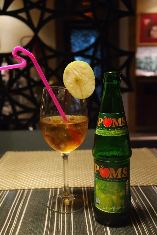 Moroccan food and drinks Poms Soda