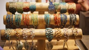 jewelry at the outdoor holiday markets in nyc