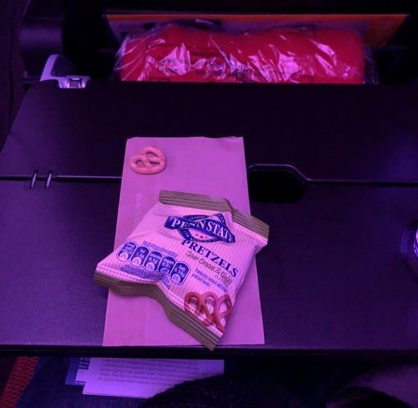 Virgin Atlantic Snack